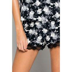 Dorina - Szorty piżamowe Julia. Brązowe piżamy damskie Dorina, l, z elastanu. Za 69,90 zł.