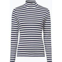 Franco Callegari - Damska koszulka z długim rękawem, beżowy. Zielone t-shirty damskie marki Franco Callegari, z napisami. Za 99,95 zł.