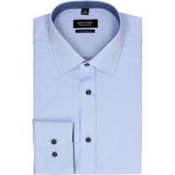 Koszula bexley 2496 długi rękaw custom fit niebieski. Czerwone koszule męskie na spinki marki Recman, m, z długim rękawem. Za 129,00 zł.