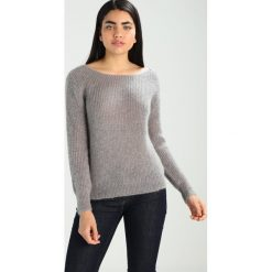 Swetry klasyczne damskie: See u Soon CREW NECK  Sweter grey