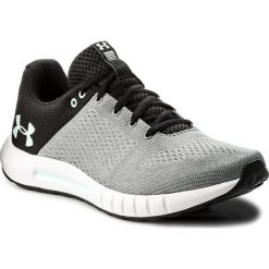 Buty UNDER ARMOUR - Ua Micro G Pursuit 3000101-106 Gry. Czarne buty do biegania damskie Under Armour, z materiału. W wyprzedaży za 189,00 zł.