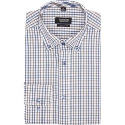 Koszula bexley 2644 długi rękaw custom fit brąz. Szare koszule męskie Recman, m, z długim rękawem. Za 139,00 zł.