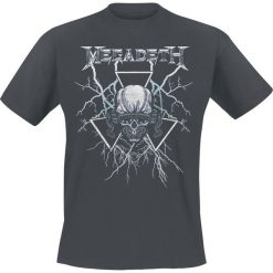 T-shirty męskie: Megadeth Elec Vic T-Shirt ciemnoszary