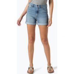 Lee - Damskie spodenki jeansowe – Mom Short, niebieski. Niebieskie bermudy damskie Lee, z bawełny. Za 269,95 zł.