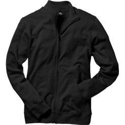 Bluza rozpinana bonprix czarny. Czarne bejsbolówki męskie bonprix, l, z dresówki. Za 74,99 zł.