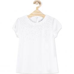 Koszulka. Brązowe bluzki dziewczęce z krótkim rękawem marki ANGEL QUEEN, z elastanu. Za 34,90 zł.