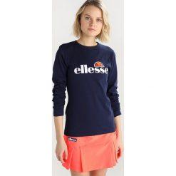 Ellesse CORCA Koszulka sportowa peacoat. Niebieskie t-shirty damskie Ellesse, z bawełny, z długim rękawem. Za 129,00 zł.