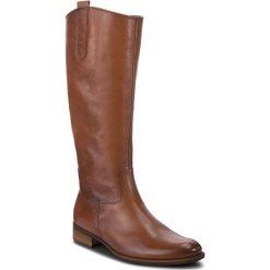 Oficerki GABOR - 91.639.22 Caramello (Effekt). Brązowe buty zimowe damskie marki Gabor, z materiału. W wyprzedaży za 549,00 zł.