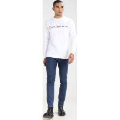 Calvin Klein Jeans HALAND Bluza bright white. Czarne kardigany męskie marki Calvin Klein Jeans, z bawełny. Za 399,00 zł.