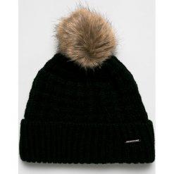 Barts - Czapka. Czarne czapki zimowe damskie marki Barts, na zimę, z dzianiny. Za 169,90 zł.