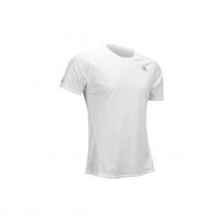 Koszulka do biegania krótki rękaw Ekiden męska. Czarne koszulki do biegania męskie marki KALENJI, m, z elastanu, z krótkim rękawem. Za 14,99 zł.
