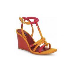 Sandały Marc Jacobs  MJ16439. Żółte rzymianki damskie Marc Jacobs. Za 2039,20 zł.