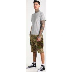 GStar ROVIC MIX Szorty khaki/army green. Brązowe szorty męskie marki Reserved. W wyprzedaży za 375,20 zł.
