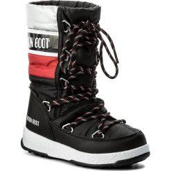 Śniegowce MOON BOOT - We Quilted Jr Wp 34051500001 Nero/Rosso/Ar. Czarne buty zimowe chłopięce Moon Boot, z materiału. W wyprzedaży za 279,00 zł.