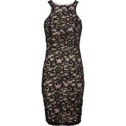 Sukienka z koronką bonprix czarny. Czarne sukienki koronkowe bonprix, w koronkowe wzory. Za 149,99 zł.