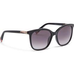 Okulary przeciwsłoneczne FURLA - Pin 995286 D 247F RE0 Onyx. Czarne okulary przeciwsłoneczne damskie marki Furla. Za 760,00 zł.