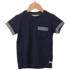 Primigi T-Shirt Chłopięcy 140 Ciemnoniebieski. Czarne t-shirty chłopięce Primigi. W wyprzedaży za 59,00 zł.