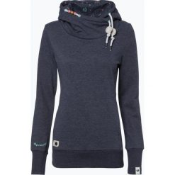 Odzież damska: Ragwear - Damska bluza nierozpinana – Beat, niebieski