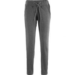 Spodnie dresowe damskie: Spodnie dresowe Boyfriend, z kolekcji Maite Kelly bonprix szary melanż