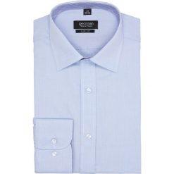 Koszula bexley 2635 długi rękaw slim fit niebieski. Niebieskie koszule męskie slim Recman, m, z długim rękawem. Za 149,00 zł.
