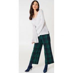 Swetry oversize damskie: Rut&Circle Sweter Vendela - Grey
