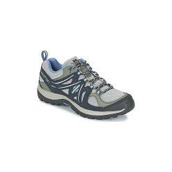Buty Salomon  ELLIPSE AERO ® W. Czarne buty sportowe damskie marki Salomon, z gore-texu, na sznurówki, outdoorowe, gore-tex. Za 280,74 zł.