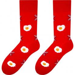 More - Skarpety. Czerwone skarpetki męskie marki More, z bawełny. W wyprzedaży za 9,90 zł.