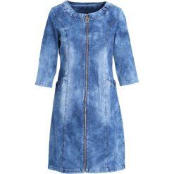 Niebieska Sukienka Nothing Yet. Niebieskie sukienki marki Born2be, z jeansu. Za 79,99 zł.