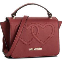 Torebka LOVE MOSCHINO - JC4293PP04KK0500  Rosso. Czerwone torebki klasyczne damskie marki Love Moschino, ze skóry ekologicznej. Za 719,00 zł.
