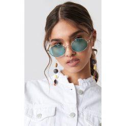 NA-KD Accessories Owalne kolorowe okulary przeciwsłoneczne - Green. Szare okulary przeciwsłoneczne damskie lenonki marki ORAO. Za 40,95 zł.