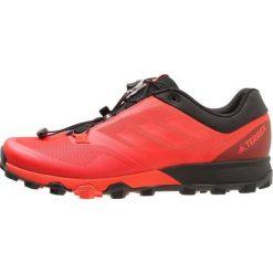 Adidas Performance TERREX Obuwie hikingowe core black/hires red/core black. Czerwone buty skate męskie adidas Performance, z gumy, outdoorowe. Za 549,00 zł.