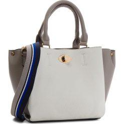 Torebka JENNY FAIRY - RC13755 Biały. Białe torebki klasyczne damskie Jenny Fairy, ze skóry ekologicznej. Za 99,99 zł.