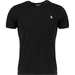 Koszulki polo: U.S. Polo Assn. HORSE LOGO TEE Tshirt basic black