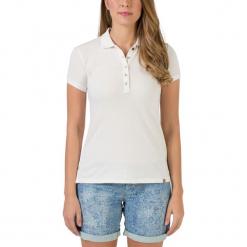 Koszulka polo w kolorze białym. Białe bluzki damskie Timezone, xs, polo. W wyprzedaży za 68,95 zł.