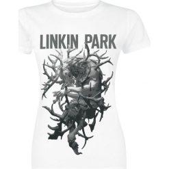Linkin Park The hunting party Koszulka damska biały. Białe bluzki na imprezę marki Linkin Park, m. Za 62,90 zł.