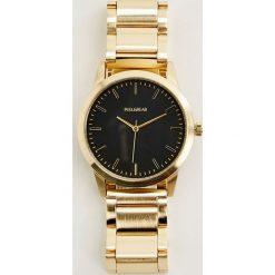 Biżuteria i zegarki: Złoty metalowy zegarek