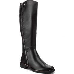 Oficerki CAPRICE - 9-25516-21 Black Comb 019. Czarne buty zimowe damskie Caprice, ze skóry, na obcasie. Za 549,90 zł.