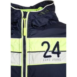 Cars Jeans KIDS LONDO Kurtka przejściowa navy. Niebieskie kurtki chłopięce przeciwdeszczowe Cars Jeans, z jeansu. Za 209,00 zł.