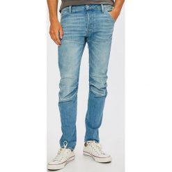 G-Star Raw - Jeansy 5620. Niebieskie jeansy męskie slim marki G-Star RAW. W wyprzedaży za 579,90 zł.