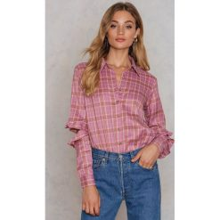 Koszule body: Glamorous Koszula z wycięciami na rękawach - Pink,Multicolor