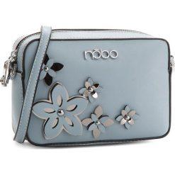 Torebka NOBO - NBAG-E1600-C012 Niebieski. Niebieskie listonoszki damskie Nobo, ze skóry ekologicznej, na ramię. W wyprzedaży za 109,00 zł.