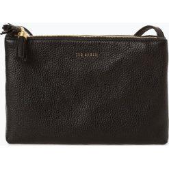 Ted Baker - Damska torba na ramię ze skóry – Maceyy, czarny. Czarne torebki klasyczne damskie marki Ted Baker, z materiału. Za 659,95 zł.