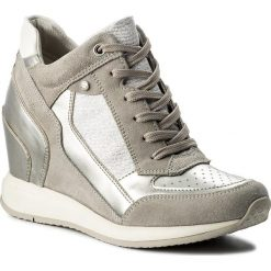Sneakersy damskie: Sneakersy GEOX - D Nydame A D540QA 022AS C1355 Lt Grey/Silver