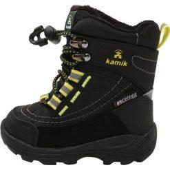Kamik VALDIS Śniegowce black. Czarne buty zimowe damskie marki Kamik, z materiału. W wyprzedaży za 191,40 zł.