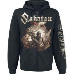 Bejsbolówki męskie: Sabaton The last stand Bluza z kapturem rozpinana czarny