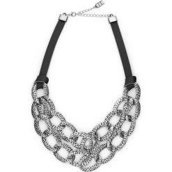 Łańcuszek bonprix czarno-srebrny kolor. Czarne łańcuszki damskie marki bonprix, srebrne. Za 37,99 zł.