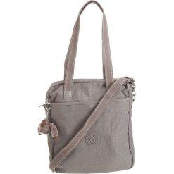 """Torebka """"Cruzita"""" w kolorze szarym - 28 x 30 x 5 cm. Szare torebki klasyczne damskie Kipling, w paski, z materiału. W wyprzedaży za 172,95 zł."""