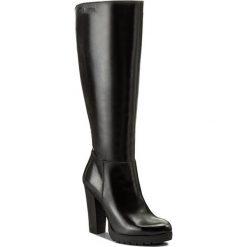 Kozaki EVA MINGE - Lupita 2T 17SM1372227EF 101. Czarne buty zimowe damskie marki Eva Minge, ze skóry. W wyprzedaży za 339,00 zł.