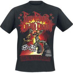 T-shirty męskie z nadrukiem: Five Finger Death Punch Justice-Graffiti T-Shirt czarny