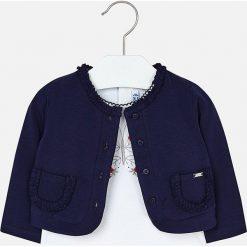 Mayoral - Sweter dziecięcy 68-98 cm. Niebieskie swetry dziewczęce Mayoral, z bawełny. Za 99,90 zł.
